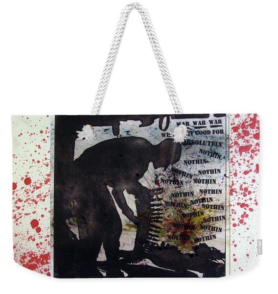 D U Rounds Project, Print 52 Weekender Tote Bag