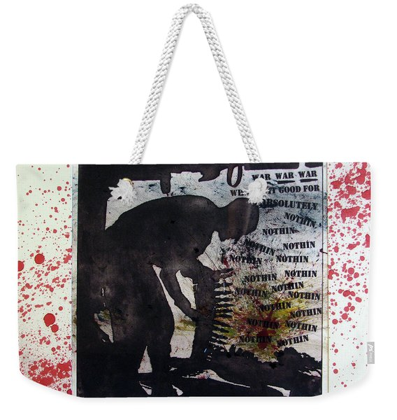 D U Rounds Project, Print 52 Weekender Tote Bag