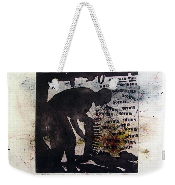 D U Rounds Project, Print 53 Weekender Tote Bag