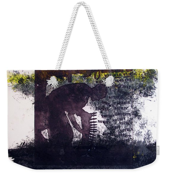 D U Rounds Project, Print 6 Weekender Tote Bag