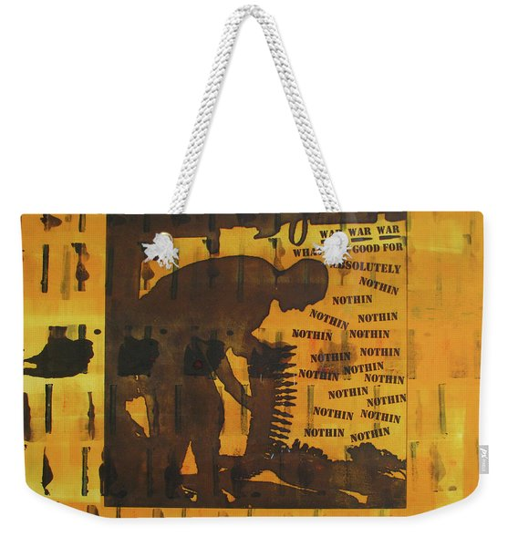 D U Rounds Project, Print 9 Weekender Tote Bag
