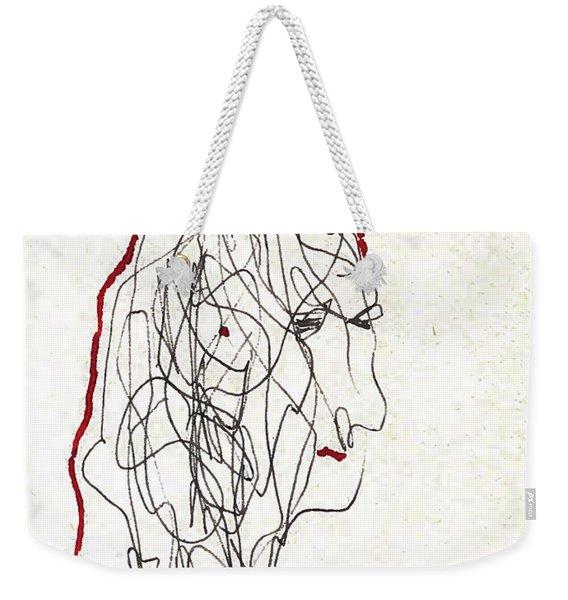 Da Vinci Drawing Weekender Tote Bag