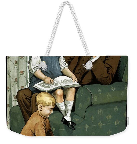 Daddy What Did You Do In The Great War Weekender Tote Bag