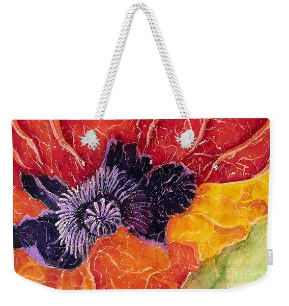 Dad's Poppy Weekender Tote Bag
