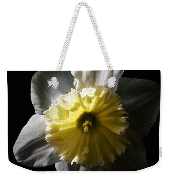 Daffodil By Sunlight Weekender Tote Bag