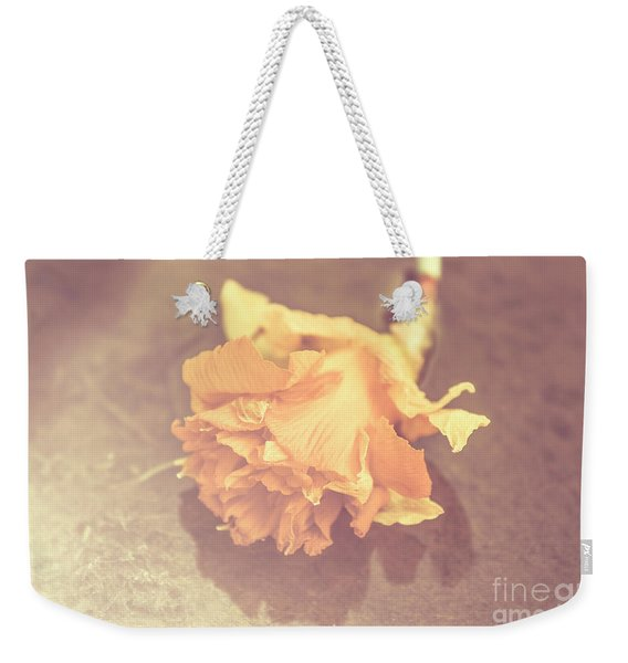 Daffodil Reflections  Weekender Tote Bag