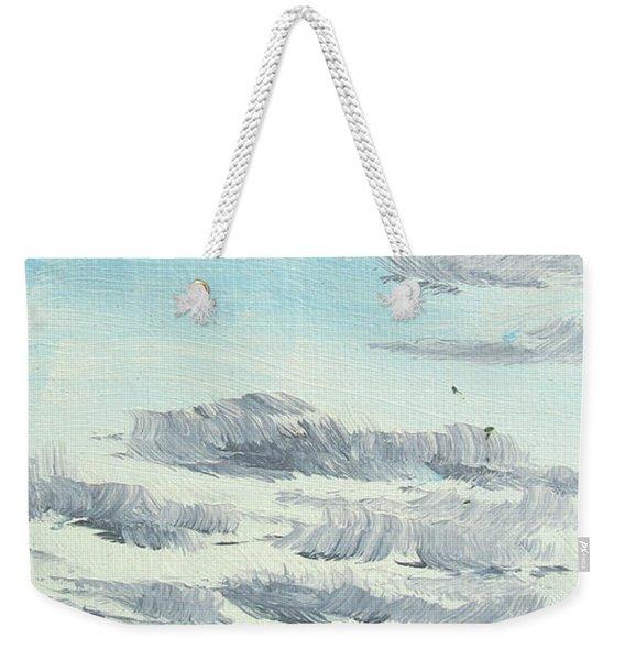 Dagrar Over Salenfjallen- Shifting Daylight Over Distant Horizon 10 Of 10_0029 Weekender Tote Bag