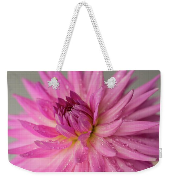 Dahlia After The Rain Weekender Tote Bag