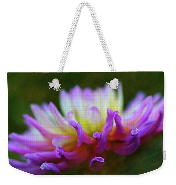 Dahlia Bloom  Weekender Tote Bag