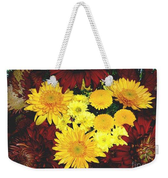 Dahlia Display Weekender Tote Bag