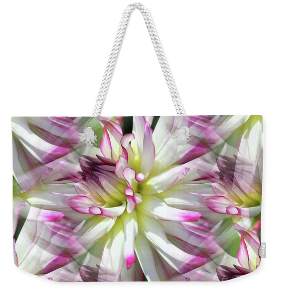 Dahlia Dreams Weekender Tote Bag