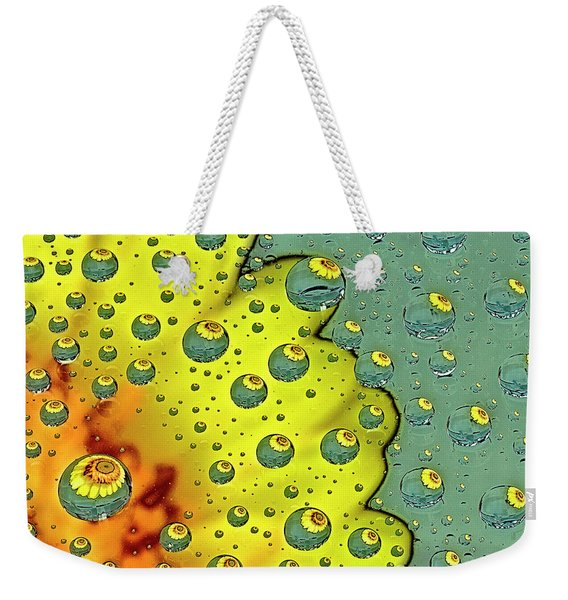 Dahlia Galaxy One Weekender Tote Bag