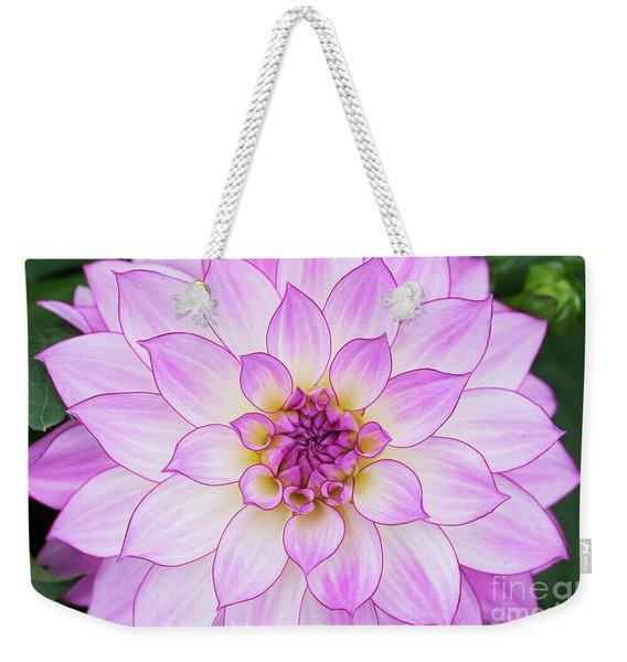 Dahlia Oriental Dream Weekender Tote Bag