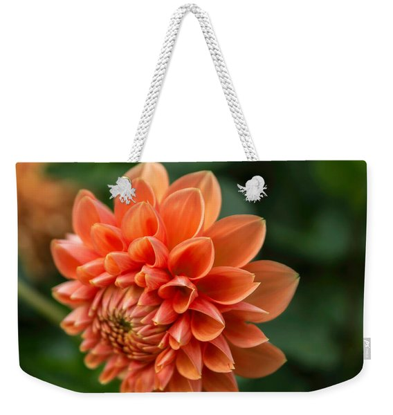 Dahlia Petals Weekender Tote Bag