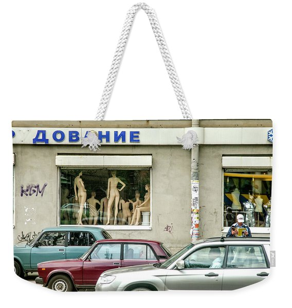 Daily Life In Russia Weekender Tote Bag