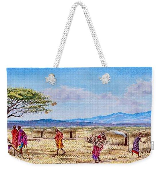 Daily Life Weekender Tote Bag