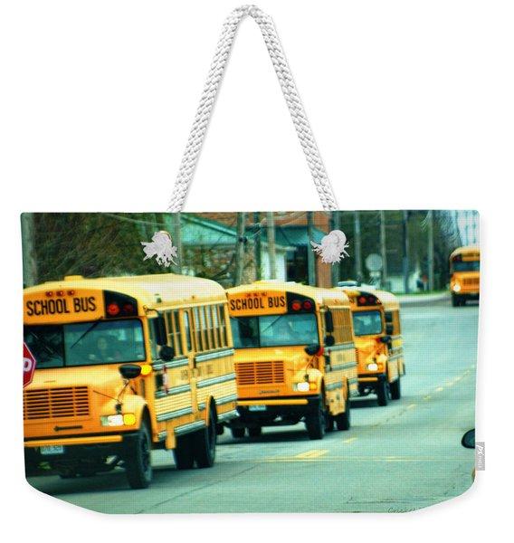 Daily Parade Weekender Tote Bag