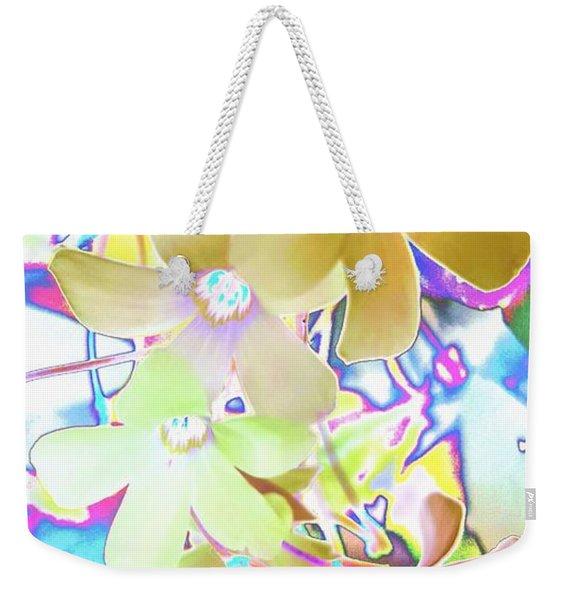 Dainty Bloosoms Weekender Tote Bag