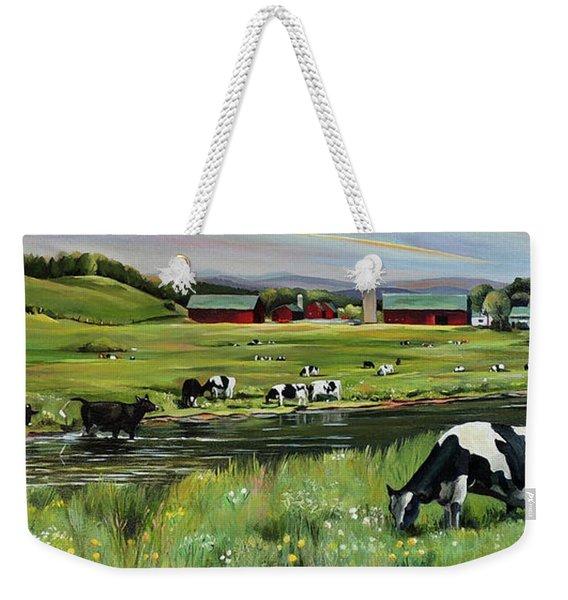 Dairy Farm Dream Weekender Tote Bag