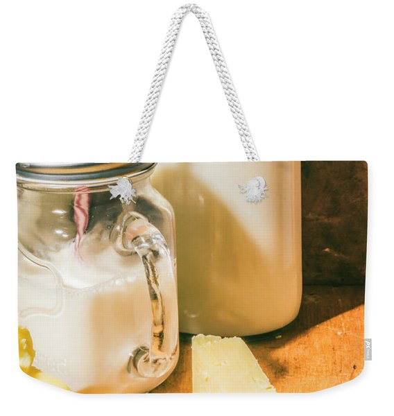 Dairy Farm Products Weekender Tote Bag