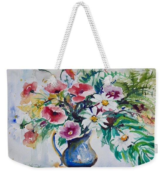 Daisies And Poppies Weekender Tote Bag