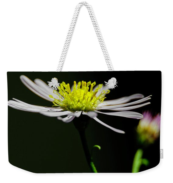 Daisy Center Stage Weekender Tote Bag