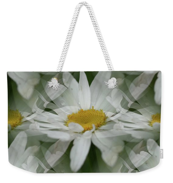 Daisy Dreams In White Weekender Tote Bag