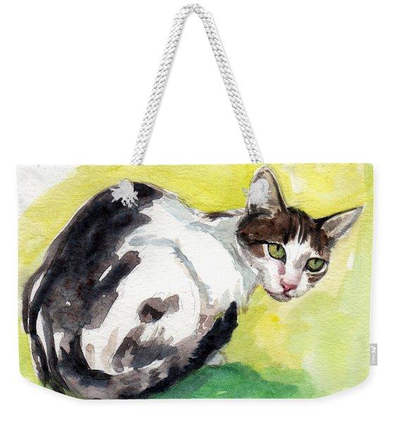 Daisy Or Little Singer Weekender Tote Bag