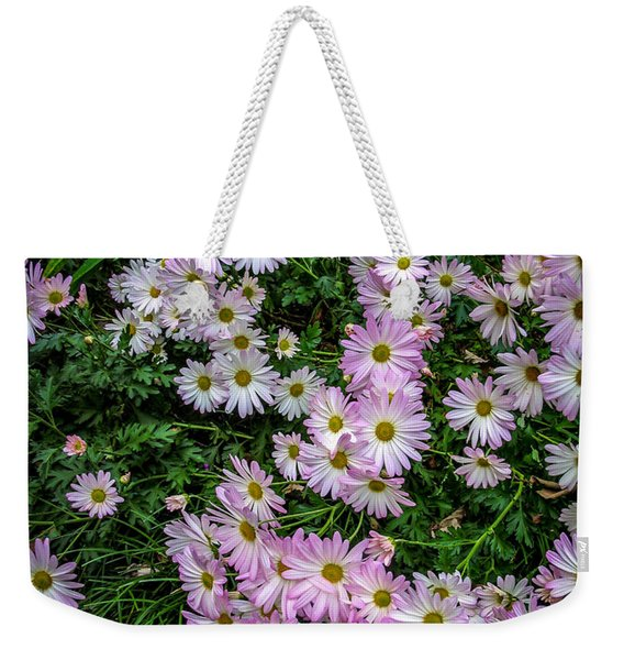 Daisy Patch Weekender Tote Bag