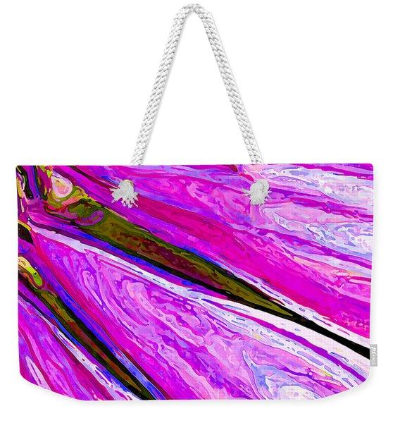 Daisy Petal Abstract 1 Weekender Tote Bag