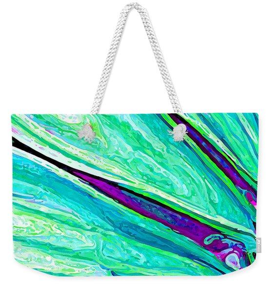Daisy Petal Abstract 2 Weekender Tote Bag