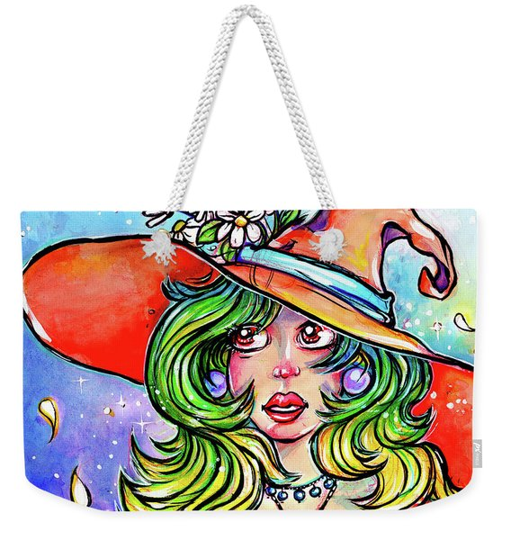 Daisy Witch Weekender Tote Bag