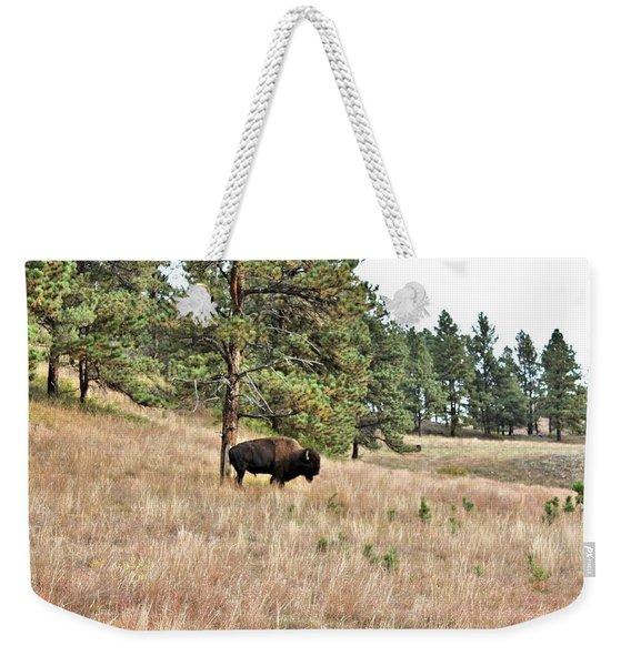 Dakota Bison Weekender Tote Bag