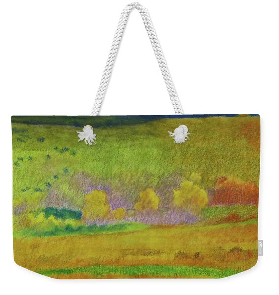 Weekender Tote Bag featuring the painting Dakota Dream by Cris Fulton