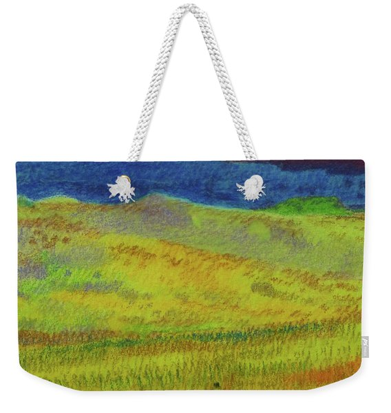 Weekender Tote Bag featuring the painting Dakota Dream Land by Cris Fulton