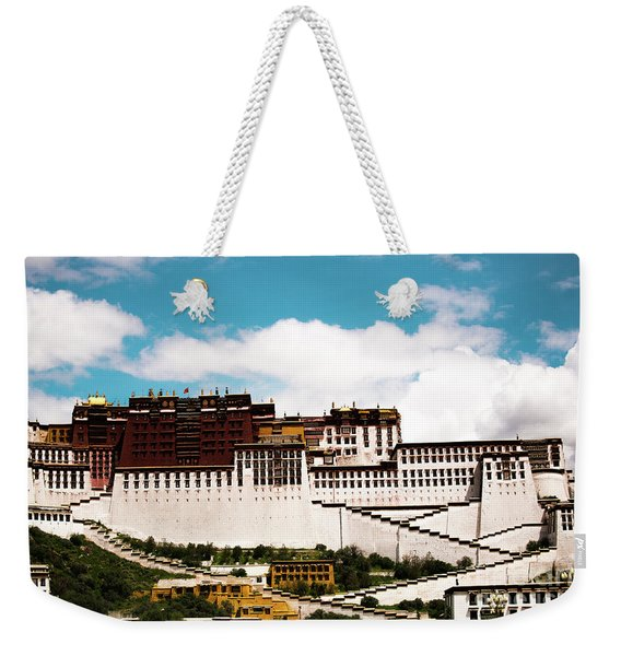 Dalai Lama Home Place. Potala Palace  Kailash Yantra.lv 2016 Tibet Weekender Tote Bag