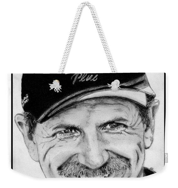 Dale Earnhardt Sr In 2001 Weekender Tote Bag