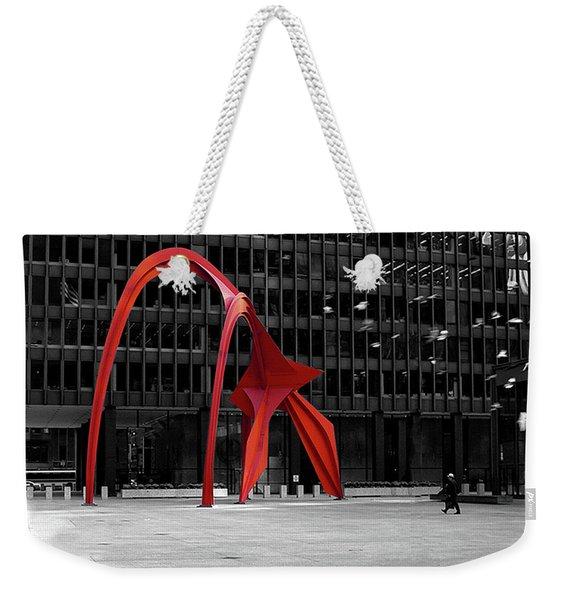 Daley Plaza Weekender Tote Bag