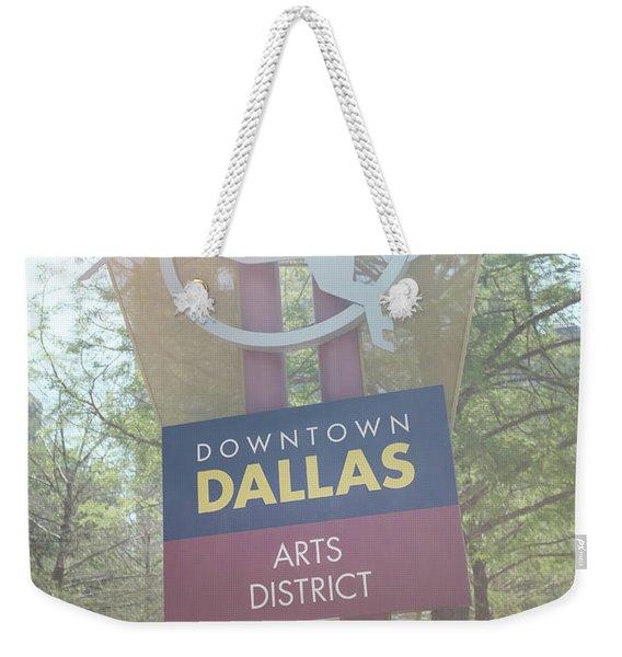 Dallas Arts District Weekender Tote Bag