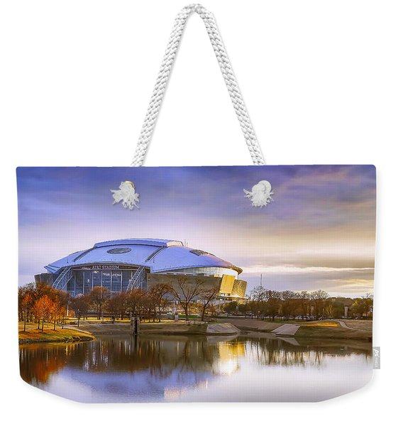 Dallas Cowboys Stadium Arlington Texas Weekender Tote Bag