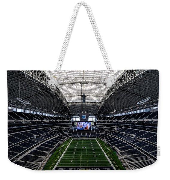 Dallas Cowboys Stadium End Zone Weekender Tote Bag