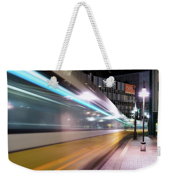 Dallas Dart Motion 012618 Weekender Tote Bag