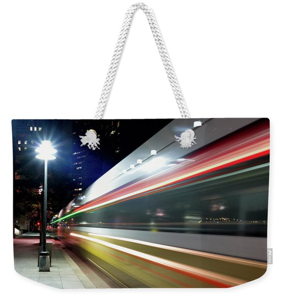 Dallas Dart Train 012518 Weekender Tote Bag