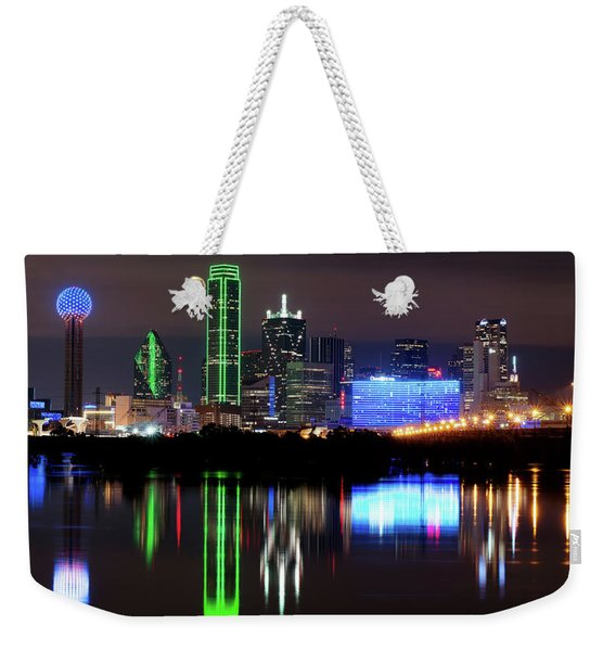 Dallas Pano 062916 Weekender Tote Bag