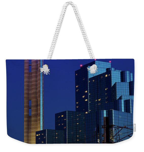 Dallas Reunion Train V2 Weekender Tote Bag