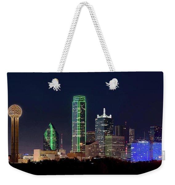 Dallas Skyline 071316 Weekender Tote Bag