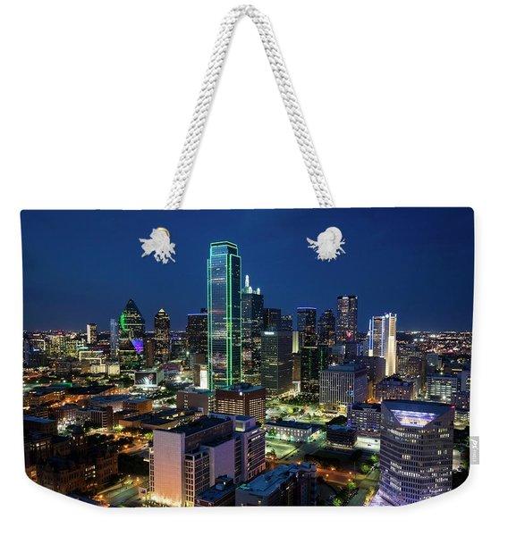 Dallas Vista  Weekender Tote Bag