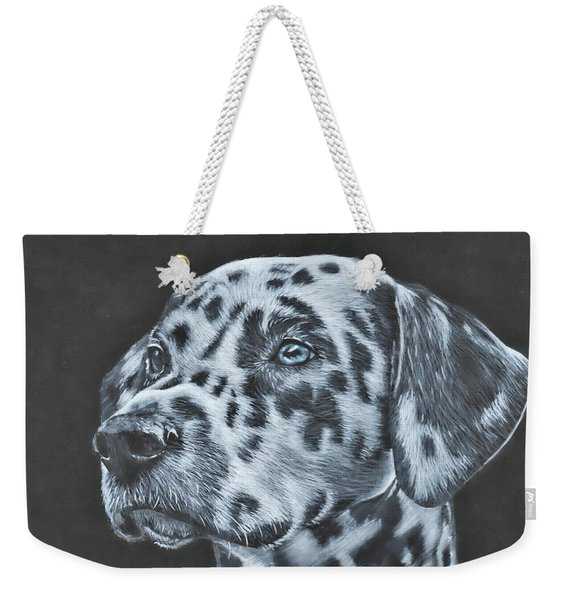 Dalmation Portrait Weekender Tote Bag