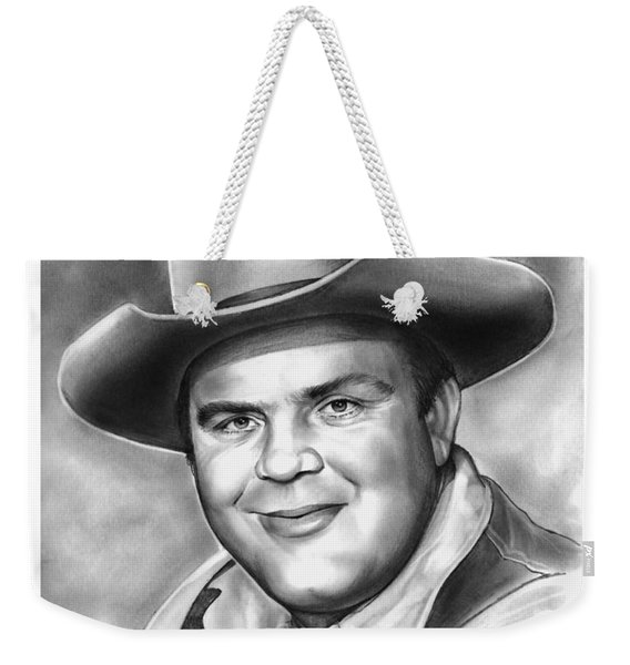 Dan Blocker Weekender Tote Bag
