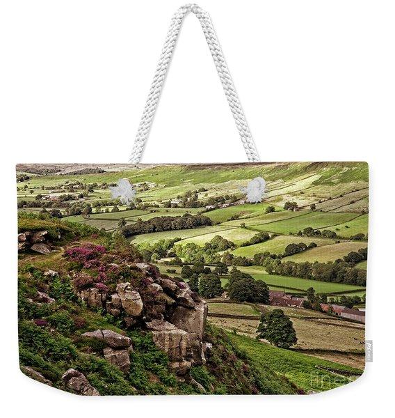 Danby Dale Yorkshire Landscape Weekender Tote Bag